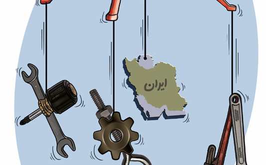 کاریکاتور مدیریتی - توازن صنعت