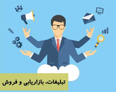 تبلیغات، بازاریابی و فروش
