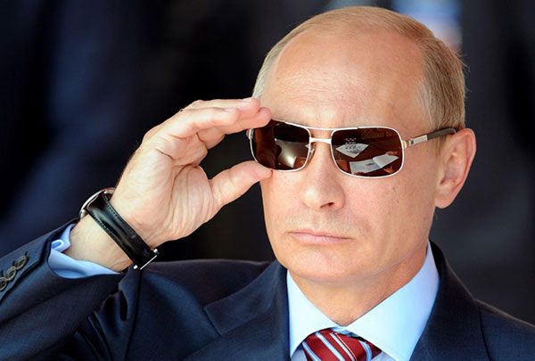 قدرتمندترین مردان سال ۲۰۱۵ پوتین
