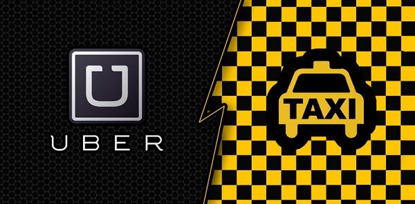 Uber-v-Taxi اوبر