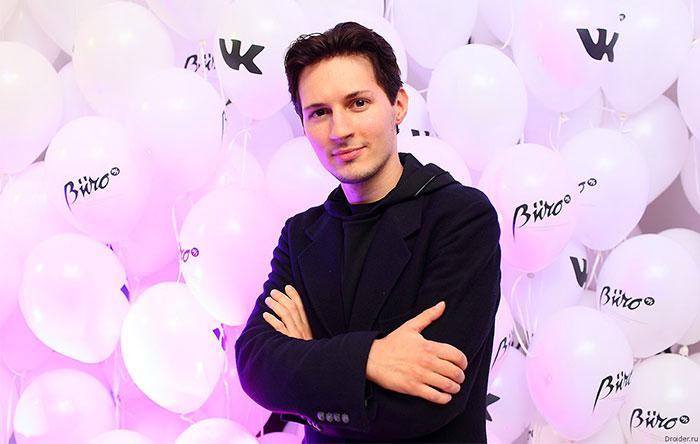 پاوِل دورُف، خالق تلگرام VK Telegram Pavel Durov