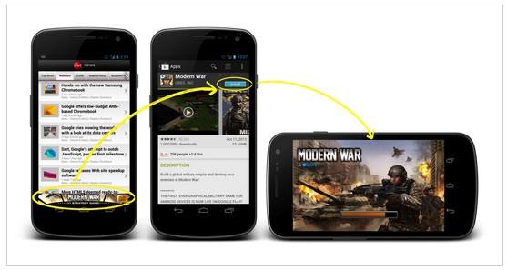تبلیغات موبایلی اپ ور تایزینگ Appvertising