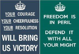 پوستر جنگ جهانی keep calm