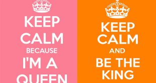 keep calm queen king