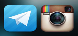 تلگرام یا اینستاگرام