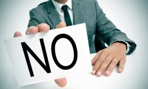 """وقتی مشتری به شما """"نه"""" میگوید"""